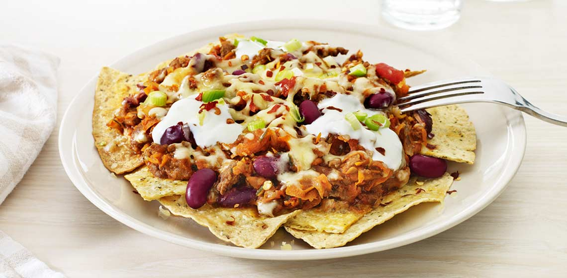 Mexican mince - nachos style