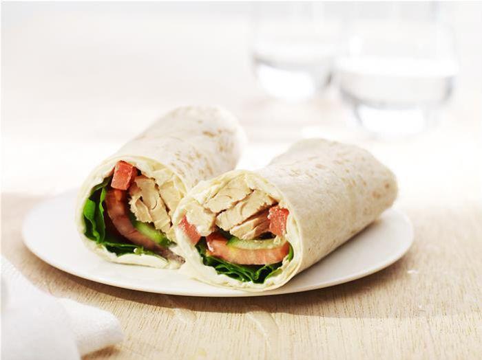 Salmon Salad Wrap