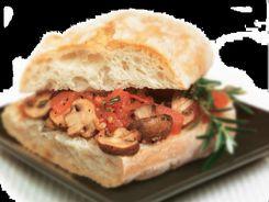 Mushroom & Tomato Bruschetta