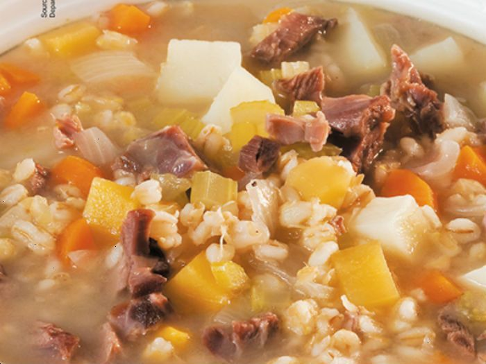 Lamb Shank & Vegetable Soup