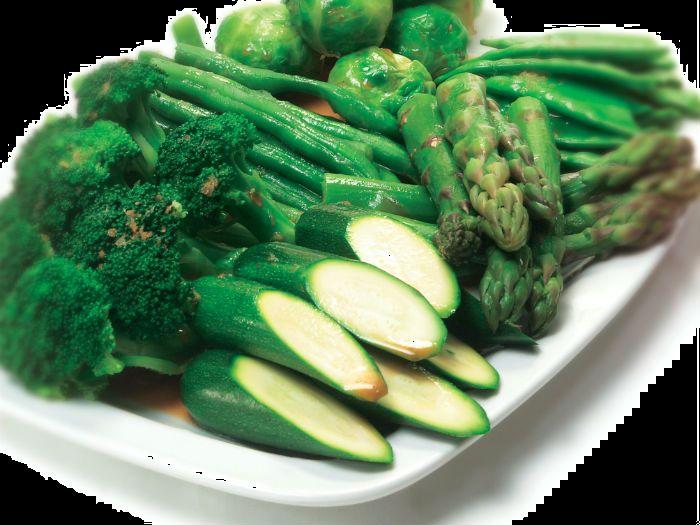 Honey Glazed Greens