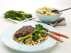 Moroccan Beef with Couscous