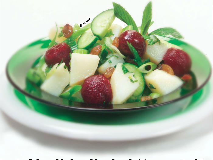 Potato & Beetroot Salad