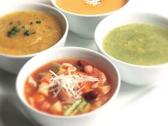 Zucchini & Corn Soup