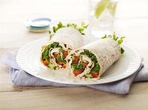 Tandoori Chicken & Salad Wrap