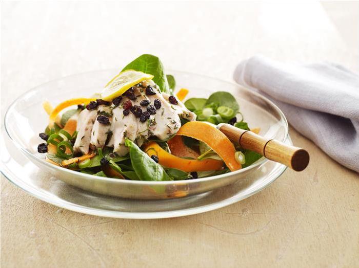 Warm Lemon Chicken Salad