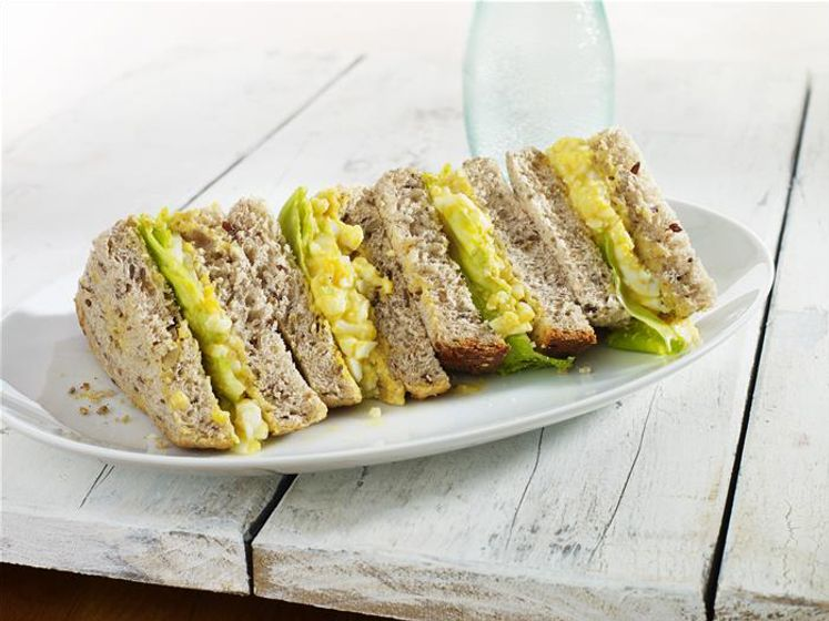 Curried Egg Sandwich