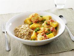 Potato & Pea Curry