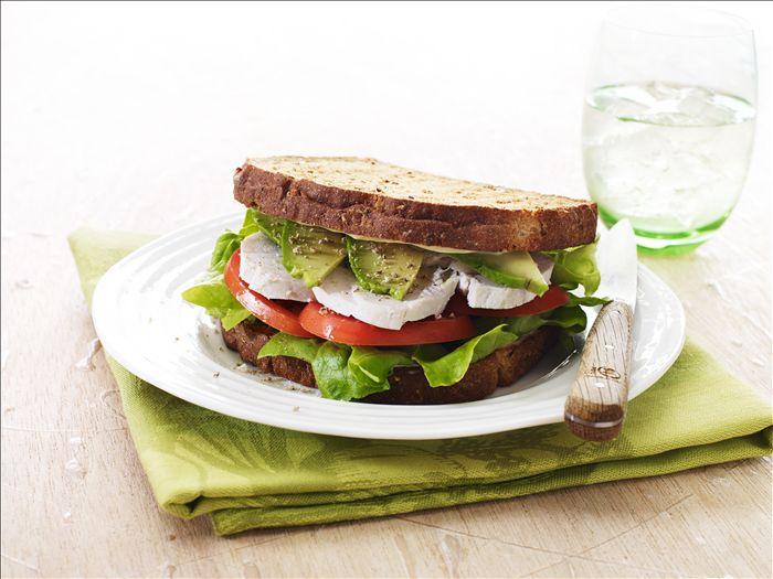 Chunky Chicken Salad & Avocado Sandwich