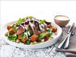 Warm Beef & Pumpkin Salad