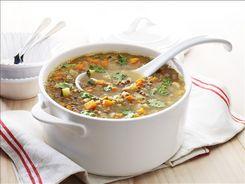 Sweet Potato & Lentil Soup
