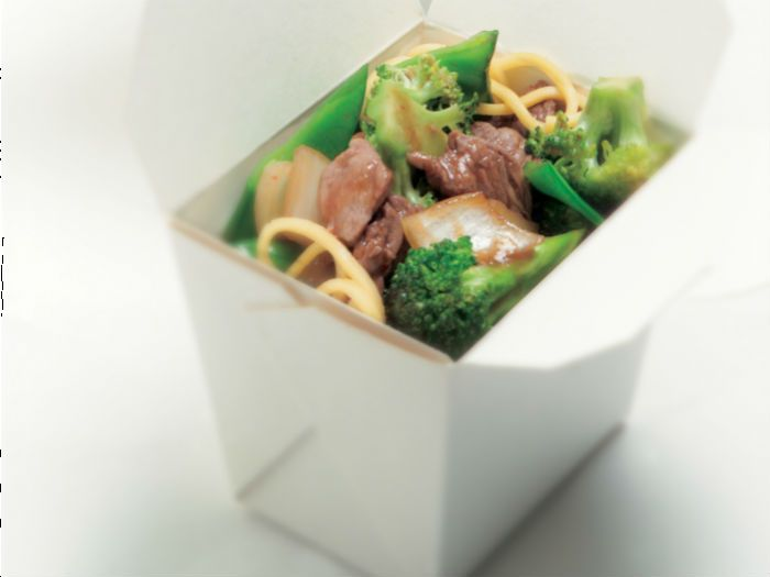 Beef Broccoli & Snow Pea Stir Fry