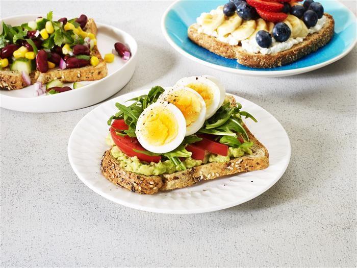 Avocado Egg & Rocket Toast Topper