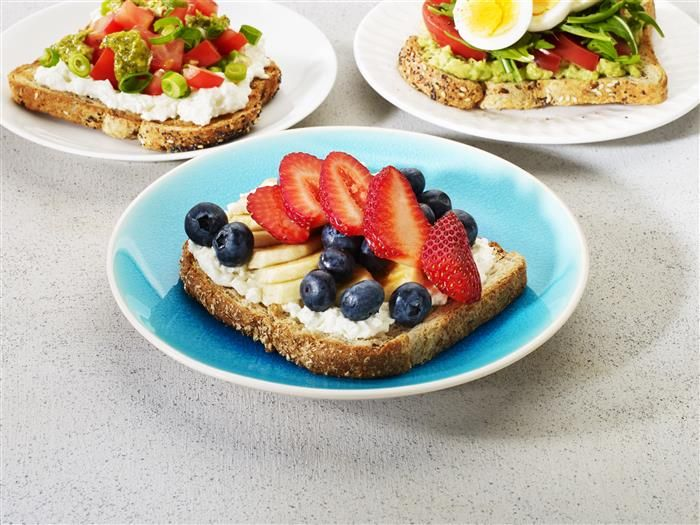 Fruity Mix Toast Topper