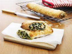 Spinach & Cheese Rolls