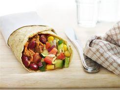 Mexican Mince - Burrito Style