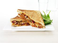 Mexican Mince - Toastie Style