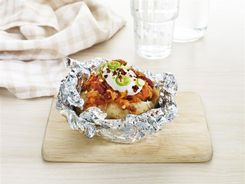 Mexican Mince - Loaded Potato Style