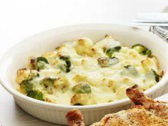 Cauliflower & Broccoli Cheese