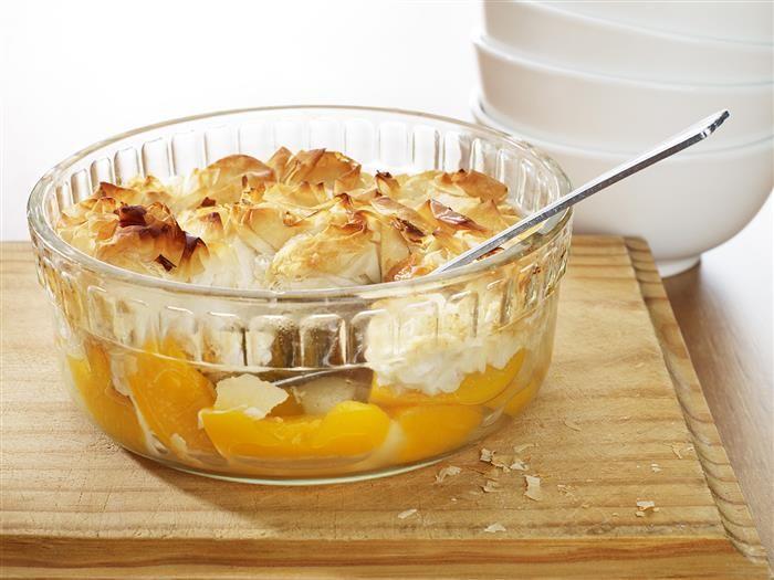 Apple Peach Pie