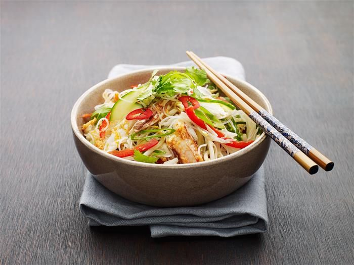 Crab Salad With Noodles