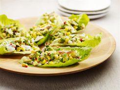 Crab Corn & Avocado Lettuce Boats
