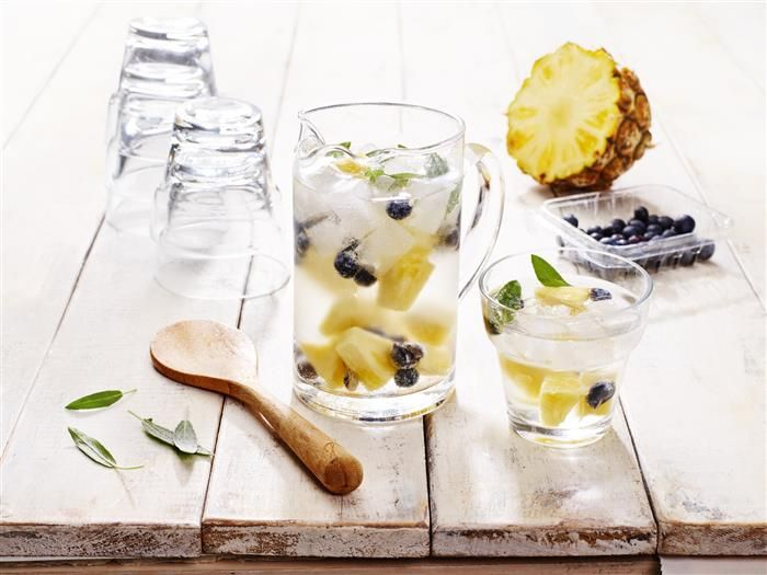 Blueberry Pineapple & Sage Water