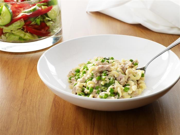 Creamy Tuna Pasta with Vegies