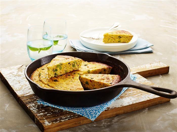Zucchini Polenta Slice 3-2-1
