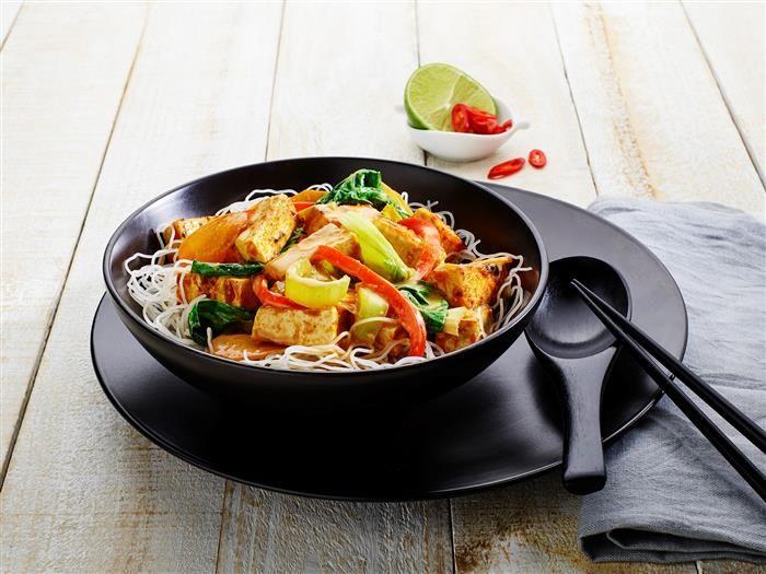 Sticky Tofu Noodles 3-2-1