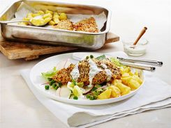 Spice Crusted Chicken & Salad 3-2-1
