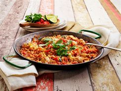 One Pan Mexican Chicken 3-2-1