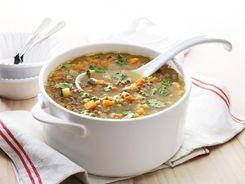 Sweet Potato & Lentil Soup 3-2-1