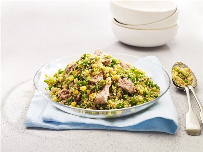 Quick Tuna Couscous 3-2-1