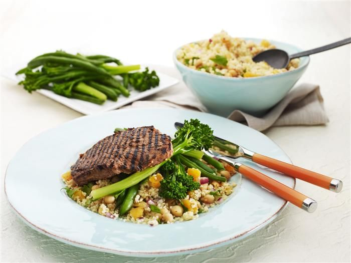 Moroccan Beef with Couscous 3-2-1
