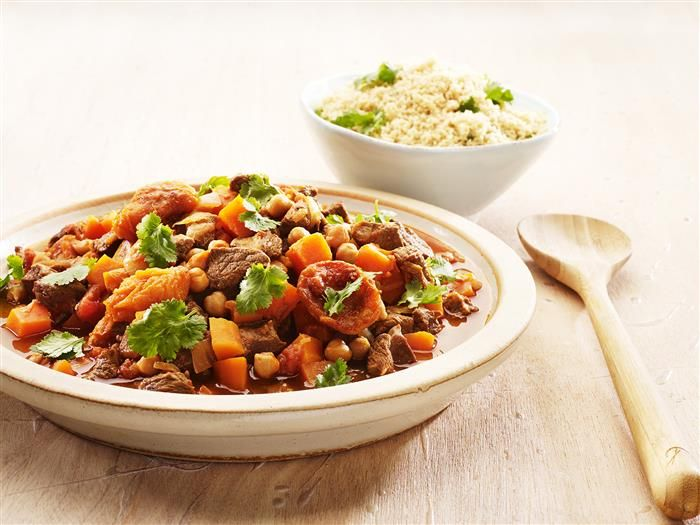 Lamb Tagine with Couscous 3-2-1