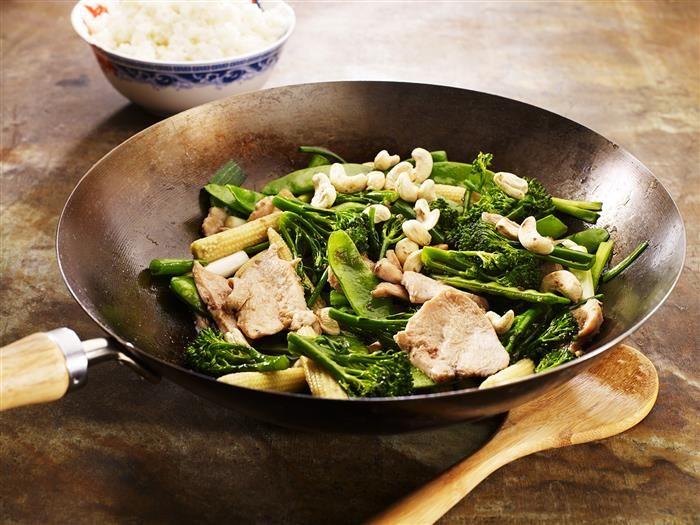 Chicken & Cashew Stir Fry 3-2-1