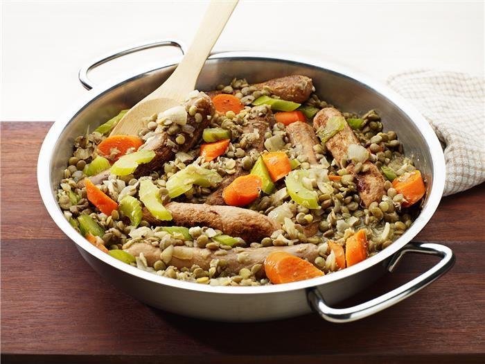 Sausage & Lentil Stew 3-2-1