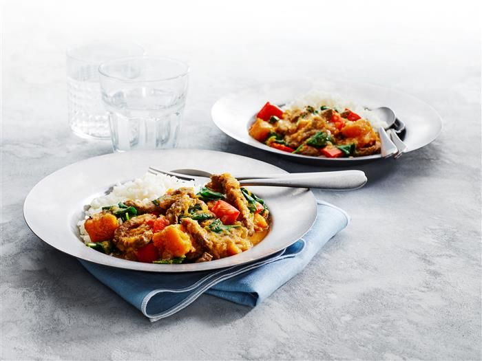 Thai Red Beef Curry 3-2-1