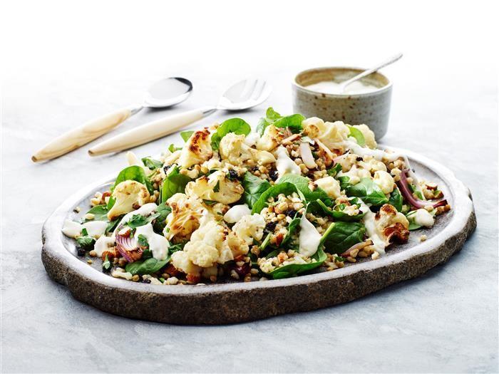 Roasted Cauliflower & Barley Salad 3-2-1