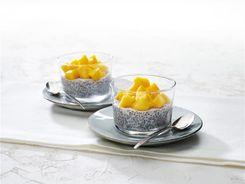 Coco Mango Chia Pudding