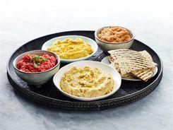 Hummus Four Ways