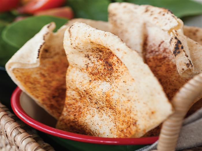 Low Fat Pita Crisps
