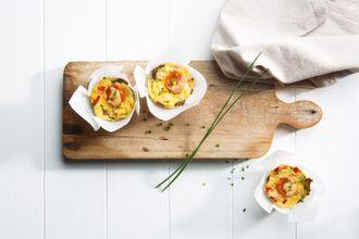 Mini Crustless Chicken Quiches