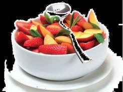 Nectarine & Berry Salad